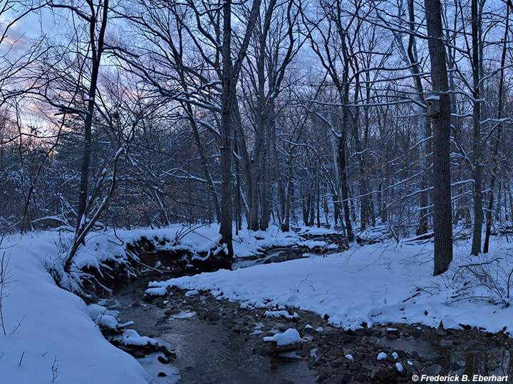 Winter Dusk, Rocky Run (m48)